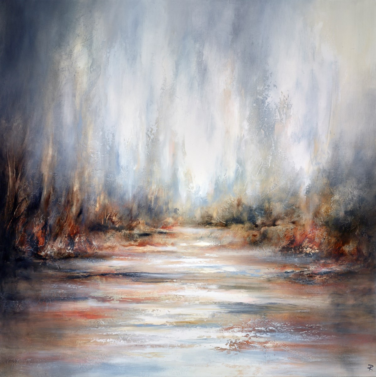 Wild Sanctuary by chris and steve rocks -  sized 47x47 inches. Available from Whitewall Galleries